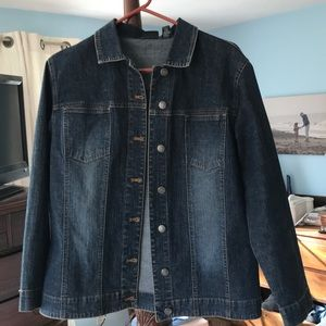 Chico's Jean jacket in new condition.